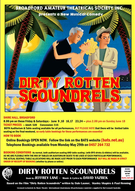 DirtyRottenScoundrels Poster